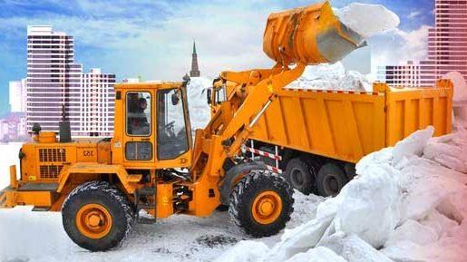 Прицепные устройства для уборки снега